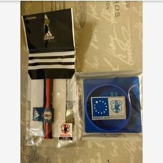 アディダス(adidas)の【新品中古】JFA サッカー ラバーバンド 2種セット(応援グッズ)