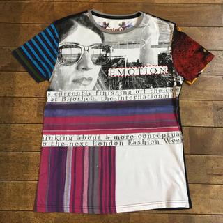 デシグアル(DESIGUAL)の専用 Desigual デシグアル クレイジーパターン プリント ボーダー (Tシャツ/カットソー(半袖/袖なし))