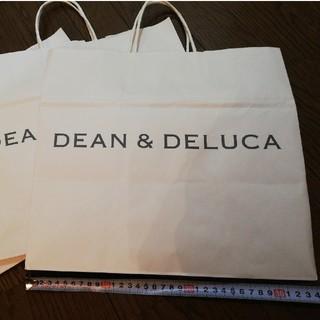 DEAN & DELUCA - 大きめ紙袋 白