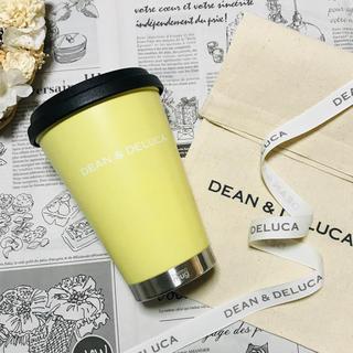 ディーンアンドデルーカ(DEAN & DELUCA)の布製ラッピングセット付きDEAN&DELUCA限定タンブラー イエローマグボトル(タンブラー)