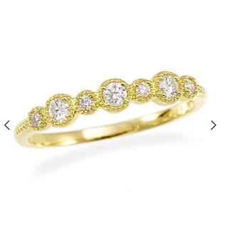ジュエリーツツミ(JEWELRY TSUTSUMI)の♦️大幅値下げ中♦️18金 イエローゴールド ダイヤモンドリング(リング(指輪))