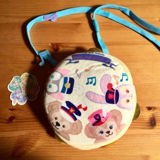 ディズニー(Disney)のダッフィーフレンズ ショルダーバッグ クリーム×ピンク×水色 新品 SALE❣️(キャラクターグッズ)