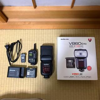 キヤノン(Canon)のGodox v860c スピードライト(ストロボ/照明)