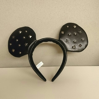 ディズニー(Disney)のミッキー&ミニー ロック カチューシャ(カチューシャ)