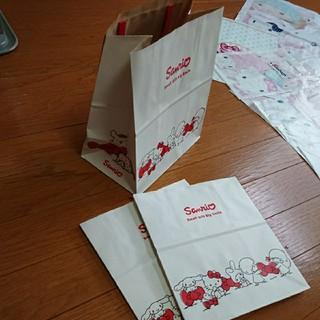 サンリオ(サンリオ)の専用、紙袋 三枚(ショップ袋)