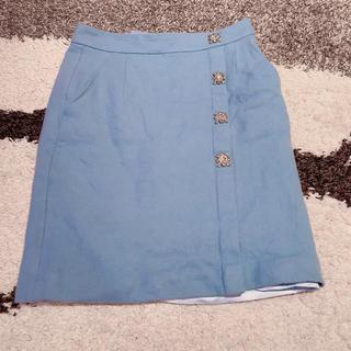 レディー(Rady)のレディー ビジュー付きスカート(ひざ丈スカート)