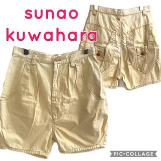 スナオクワハラ(sunaokuwahara)のスナオクワハラ 色褪せ膝上パンツ(ショートパンツ)