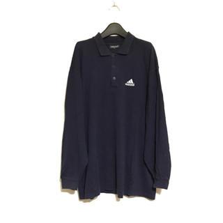 アディダス(adidas)の80's 90's adidas ビッグサイズ ポロシャツ(ポロシャツ)