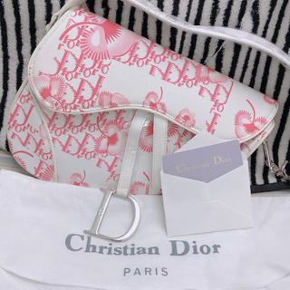 ディオール(Dior)の花柄ハンドバッグ(ハンドバッグ)