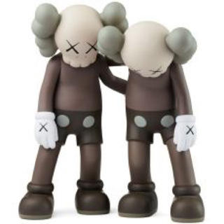 MEDICOM TOY - kaws along the way カウズ ブラウン brown
