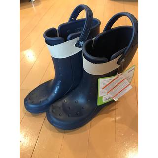クロックス(crocs)のクロックス  長靴 レインブーツ 26cm ネイビー(長靴/レインシューズ)