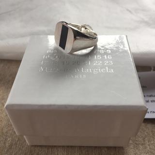 マルタンマルジェラ(Maison Martin Margiela)の18SS新品M マルジェラ ナチュラルストーン シグネットリング(リング(指輪))
