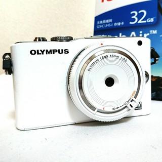 オリンパス(OLYMPUS)のミラーレス一眼 オリンパス BCL OLYMPUS PL3(ミラーレス一眼)