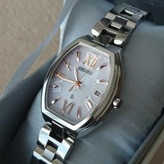 セイコー(SEIKO)のとふ様専用《美品》SEIKO LUKIA ルキア チタン 電波時計: クロスシー(腕時計)