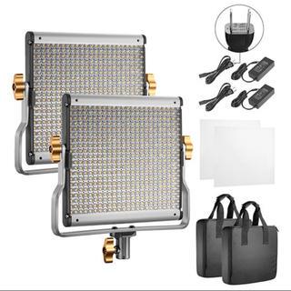 Neewer LEDライト 480個 定常光 ストロボ 照明 撮影機材 新品(ストロボ/照明)