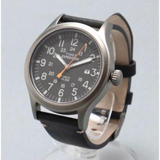 タイメックス(TIMEX)のTIMEX  エクスペディション  スカウト メタル(腕時計(アナログ))