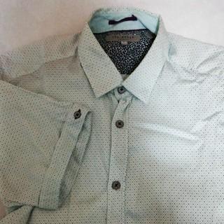 テッドベイカー(TED BAKER)のTED BAKER 半袖カッターシャツ ほぼ新品(シャツ)