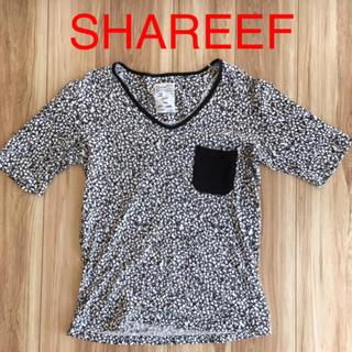 シャリーフ(SHAREEF)のSHAREEF 総柄 半袖 Tシャツ(Tシャツ/カットソー(半袖/袖なし))