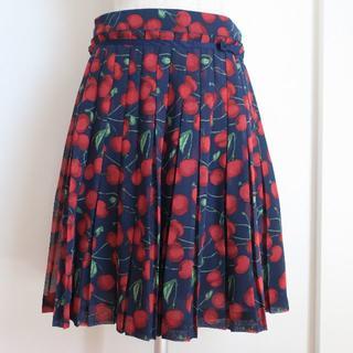 ジェーンマープル(JaneMarple)の新品 jane marple dans Le slon cherry  スカート(ひざ丈スカート)