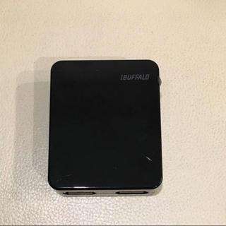 バッファロー(Buffalo)のUSB充電器 2口 (バッファロー製)(バッテリー/充電器)