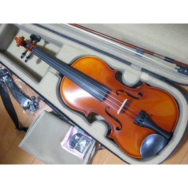 スズキ(スズキ)の【美品】高級 国産バイオリン SUZUKI No.230 4/4 付属品セット 楽器の弦楽器(ヴァイオリン)の商品写真