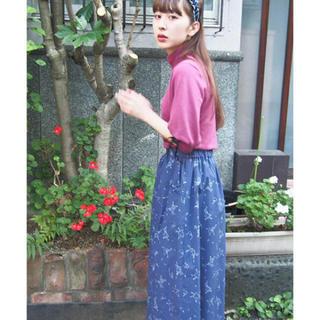 メリージェニー(merry jenny)のParade ミモレスカート(ひざ丈スカート)