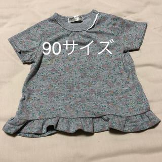 シマムラ(しまむら)のお花柄Tシャツ 90サイズ(Tシャツ/カットソー)