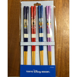 ディズニー(Disney)のDisney はしセット(カトラリー/箸)
