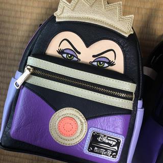 ディズニー(Disney)のクイーン グリムヒルド 白雪姫 ヴィランズ ディズニー リュック 日本未発売(リュック/バックパック)