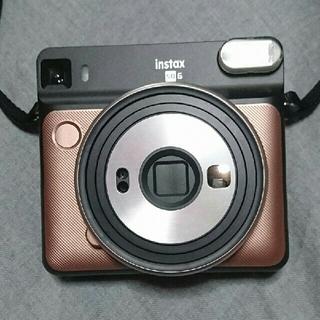 チェキ スクエアカメラ instax SQUARE SQ6