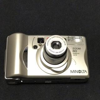 コニカミノルタ(KONICA MINOLTA)のMINOLTA ZOOM80(フィルムカメラ)