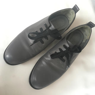 ジルサンダー(Jil Sander)のジルサンダー レースアップ シューズ グレー(ローファー/革靴)