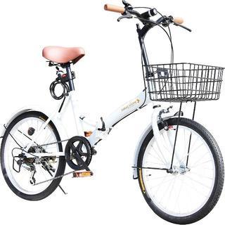 【新品】快適な折りたたみ自転車(自転車本体)