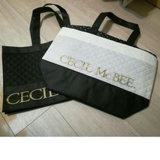 セシルマクビー(CECIL McBEE)のセシルマクビー ショップバッグ2点(ショップ袋)