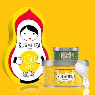 KUSMI TEA ドールセット(茶)