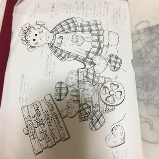 トールペイントの図案(型紙/パターン)