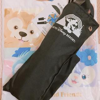 ディズニー(Disney)の新品未使用 タグ付き 折りたたみ 傘 晴雨兼用 ディズニー 実写(傘)