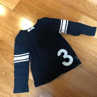 シマムラ(しまむら)の長袖Tシャツ 黒(Tシャツ/カットソー)