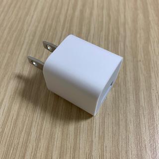 アイフォーン(iPhone)のiPhone 純正 アダプター(変圧器/アダプター)