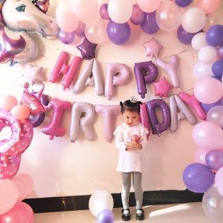 素敵な誕生日に♡ユニコーンパーティーデコレーション 315(ガーランド)
