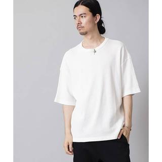 ノーアイディー(NO ID.)のワッフル半袖BIG-Tシャツ(Tシャツ/カットソー(半袖/袖なし))