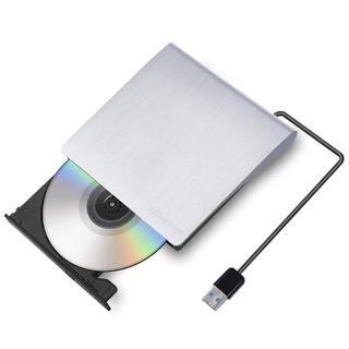 USB 3.0外付け DVD ドライブ (DVDプレーヤー)