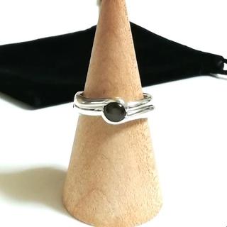 ヨンドシー(4℃)の4°C 2連シルバーリング 10.5号(リング(指輪))