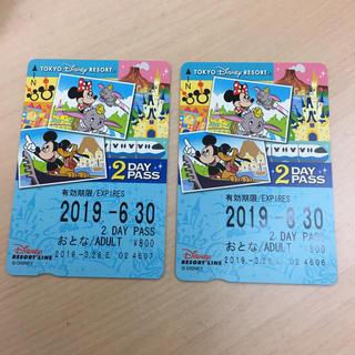 ディズニー(Disney)のディズニー リゾートライン モノレール チケット (遊園地/テーマパーク)