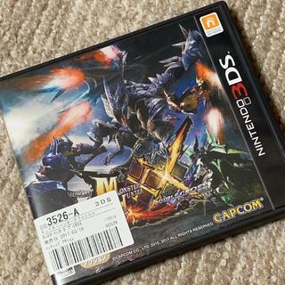 ニンテンドー3DS(ニンテンドー3DS)のモンスターハンターダブルクロス3DSソフト(携帯用ゲームソフト)