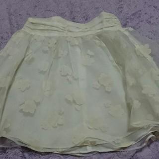 アイズビット(ISBIT)の花柄スカート(ミニスカート)