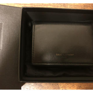 5d773cc5f0f4 サンローラン ミニ 折り財布(メンズ)の通販 10点 | Saint Laurentの ...