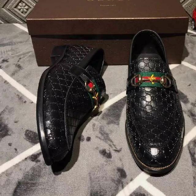 グッチ ビジネス シューズ  GUCCI 正規 メンズの靴/シューズ(デッキシューズ)の商品写真
