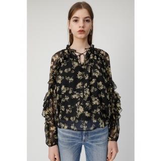 マウジー(moussy)のDENSE FLOWER トップスブラウス (Tシャツ(長袖/七分))