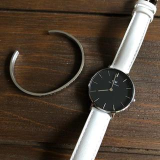 ダニエルウェリントン(Daniel Wellington)のダニエルウェリントン 腕時計 カフ レディース(腕時計)
